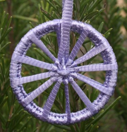 Dorset Button Kit - Christmas Crosswheel Lavender